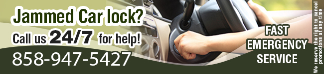 Jammed Car Lock? Call Locksmith Del Mar